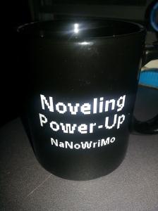 the OFFICIAL NaNoWriMo Mug!